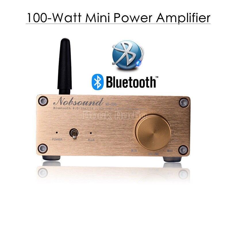 2018 neue Nobsound 100 Watt Bluetooth 4,0 Mini HiFi TPA3116 Power Verstärker Digital Audio Stereo Amp