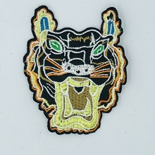 fashion style hot melt adhesive applique embroidery patch DIY clothing accessory patches stripes6