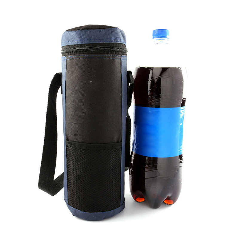 Newly Water Bottle Cooler Tote Bag Insulated Holder Carrier Cover Pouch for Travel BF88