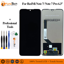 цены на Tested LCD for Xiaomi Redmi Note 7 LCD Display Screen Touch Digitizer Assembly Redmi Note7 Pro LCD Display 10 Point Touch Parts  в интернет-магазинах