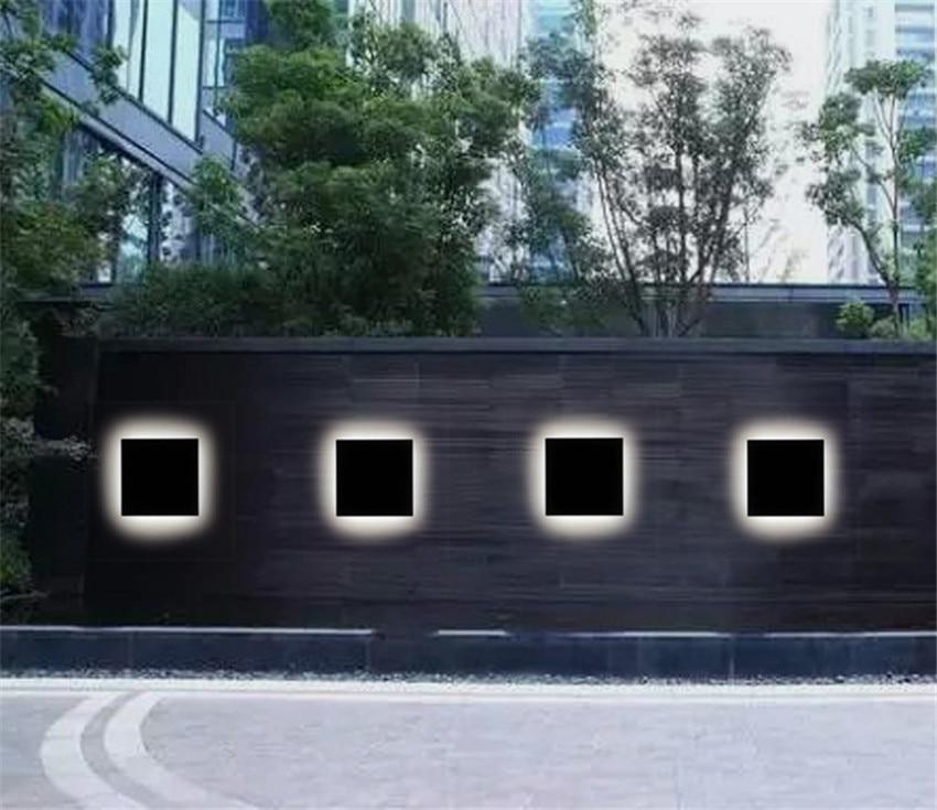 jardim, corredores, parede externa, varanda, corredor, iluminação de alumínio nr21
