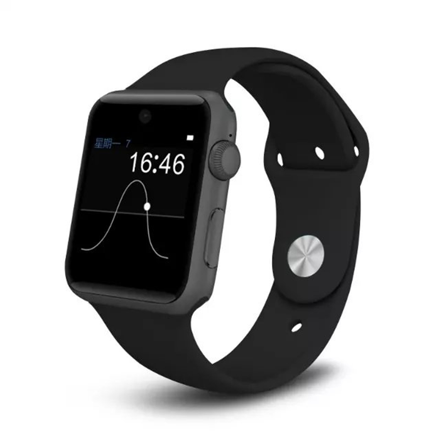 Nouveau DM09 Bluetooth montre intelligente podomètre Anti-perte Fitness Tracker 2.5D ARC HD écran prise en charge carte SIM Smartwatch