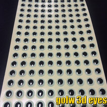 hot deal buy 2017 golw fish eyes  3d fising lure eyes size 4mm-8mm choose number:500pcs.lot