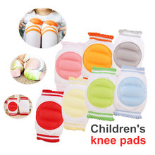 Baby Crawling Pad for Children Kids 1 Pair Knee Protection Pads Cotton Leggings Warmers Safety Elbow Cushion