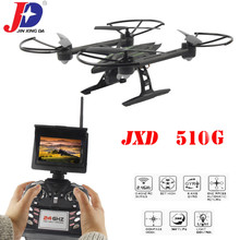 JXD 510G 5.8G FPV 2.0MP Camera 2.4G 4 Channel 6-axis Gyro RC Quadcopter Drone – Black + Green
