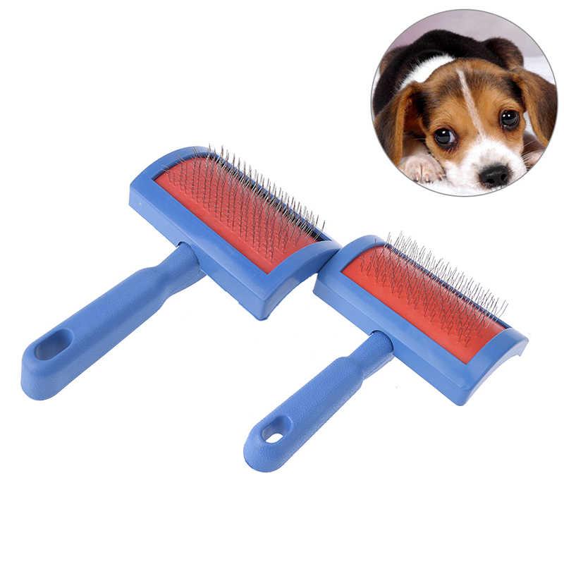 สุนัขแปรงหวีสำหรับแมว Scraper Puppy Cat Slicker Gilling แปรง Quick Clean เครื่องมือสัตว์เลี้ยงผลิตภัณฑ์ใหม่ล่าสุด