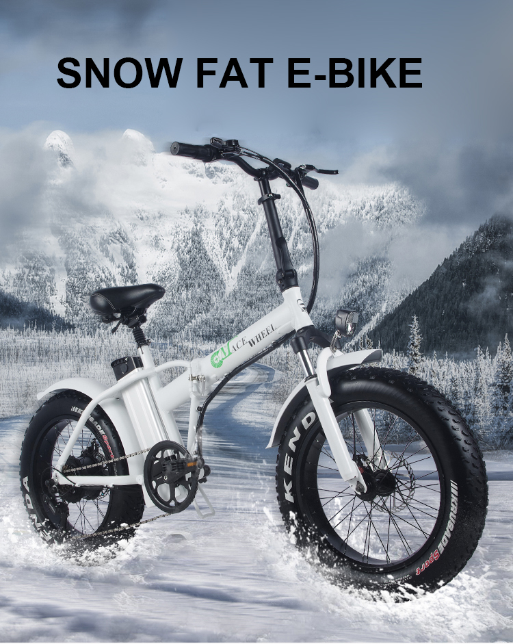 HTB1ofyaao rK1Rjy0Fcq6zEvVXaw - 20inch electric mountian bicycle 48V 15ah lithium battery 500w rear wheel motor max speed 40km/h range 50-60km snow fat
