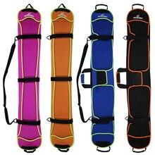 Skiing Snowboard Bag 135-155cm Scratch-Resistant Monoboard Plate Protective Case Dumpling Skin Ski Board Bag 4 Colors