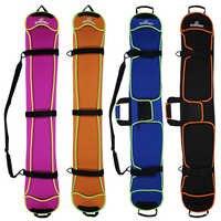 Skiën Snowboard Tas 135-155cm Krasbestendig Monoboard Plaat Beschermhoes Knoedel Huid Ski Board Bag 4 kleuren
