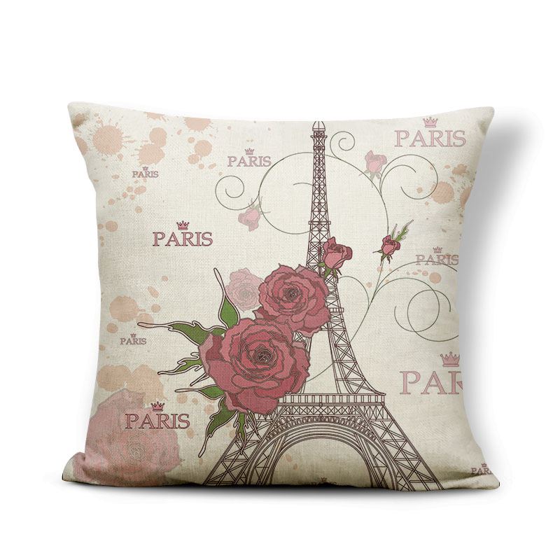 Building Cushion Tower Pillow Cover Red Scandinavian Recliner Gifts For Mom Throw Pillow Cases Statue Of Liberty 17.7Inch