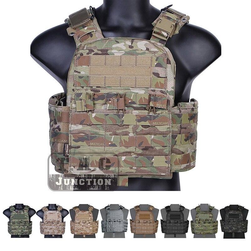Emerson CAGE Plate Carrier CPC Gilet EmersonGear Tactique MOLLE Réglable Gilet D'urgence Levée Polyvalent Multicam Armor Gilet