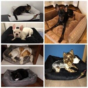 Image 5 - Animal de compagnie chien lit canapé grand chien lit pour petit moyen grand chien tapis banc chaise longue chat Chihuahua chiot lit chenil chat animal domestique fournitures
