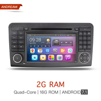 Android7 1 Quad Core 2G RAM Car DVD Stereo Autoradio Bluetooth NAVI GPS For Mercedes Benz