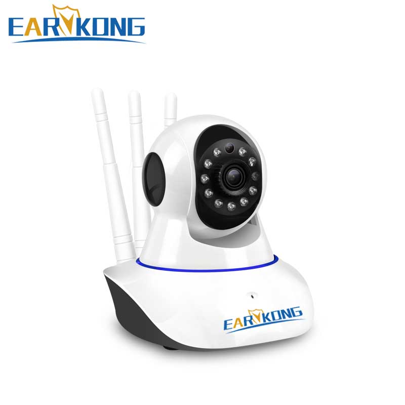 NEW IP Camera Wifi Wireless Security 720P Alarm Camera Shaking Head Support Android IOS APP 2 years Warranty For PG103 W2B Alarm-in Alarm System Kits from Security & Protection