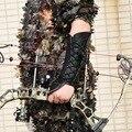 Arm Schutz Unisex Leder Arm Hand Protector Handschuh Verstellbare Schutz Getriebe Für Bogenschießen Jagd Bogen-in Pfeil & Bogen aus Sport und Unterhaltung bei