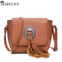 MARFUNY Brand Tassel Women Bag Female Messenger Bags Handbags Designer Crossbody Bags For Women 2018 Pu