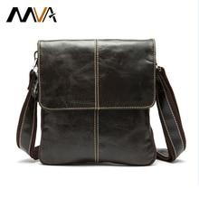 MVA Genuine Leather Men Bag Fashion Leather Crossbody Bag Men Messenger Bags Casual Shoulder Designer Handbags Man Bags 2017 NEW