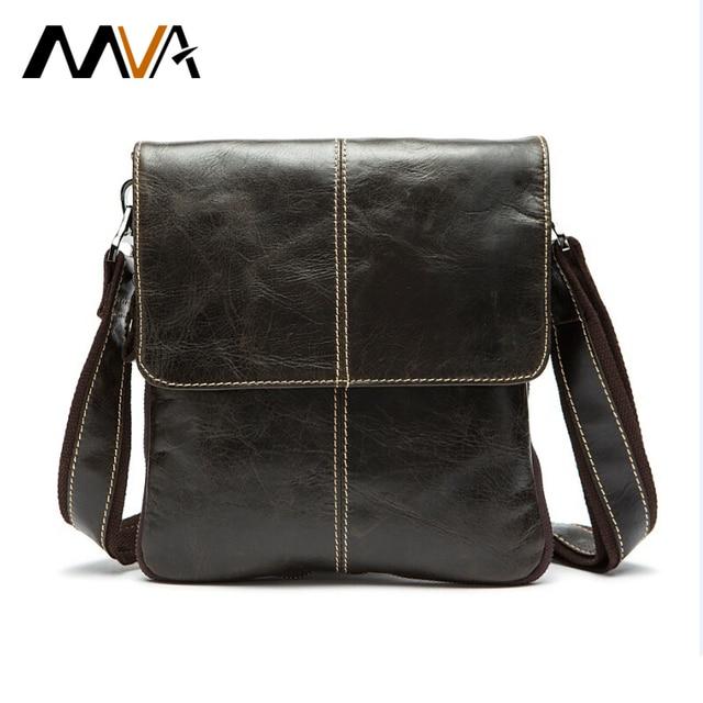 Aliexpress.com : Buy MVA Genuine Leather Men Bag Fashion Leather ...