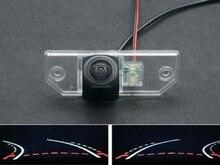 Траектория треков 1080 P рыбий глаз Автомобильная камера заднего вида для Ford Focus Седан 2 3 2008 2009 2010 2011 2012 C-Max C Max Mondeo