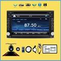 Двухместный 2 ДИН В-dash Dvd-плеер Windows HD Сенсорный ScreenCar Стерео Bluetooth Авто GPS Радио Музыка Видео Аудио Головное устройство Для VW
