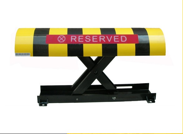 Automatic Remote Controlled Barrier Parking Lock Electric Battery Powered