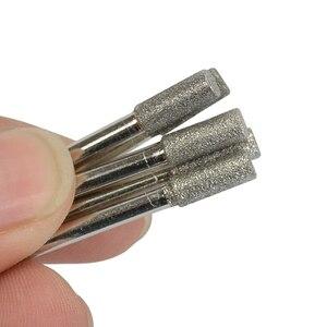 Image 3 - 10 шт., цилиндрические точилки для бензопилы с алмазным покрытием, 4 мм (5/32 дюйма)