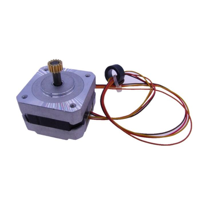 1 set BJ07 12V-24V metal stepper motor and Four wire two phase stepper motor for air conditioner цена