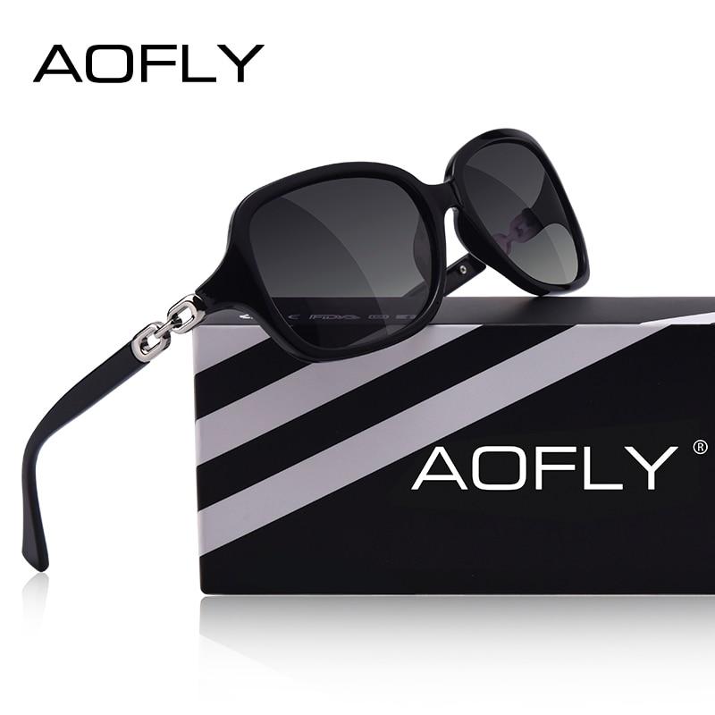 AOFLY Polarized Sunglasses Shades Female DESIGN Women Fashion Eyewear Gradient UV400