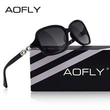 AOFLY marca De moda De diseño De Gafas De Sol polarizadas mujer Gafas De Sol mujer gradiente tonos Gafas De Sol Femeninas UV400