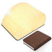 200 160 30cm Wooden Folding Book Light Magicfly USB Rechargable Book Shaped Light 4 Colors Led