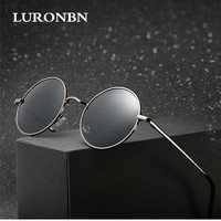 High Quality Men S Polarized Sunglasses Mirror Coating Round Sunglasses Luxurious Brand Design Glasses For Driving