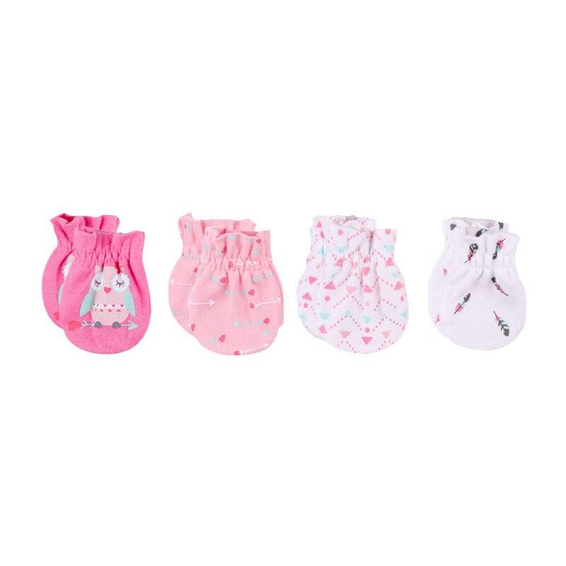 Boys' Baby Clothing Hot Sale 0-6 Months Fashion Baby Gloves Unisex Bebe Accessorise Cotton Boy Girl Safety Scratch Mittens Newborn Baby Mittens Mother & Kids