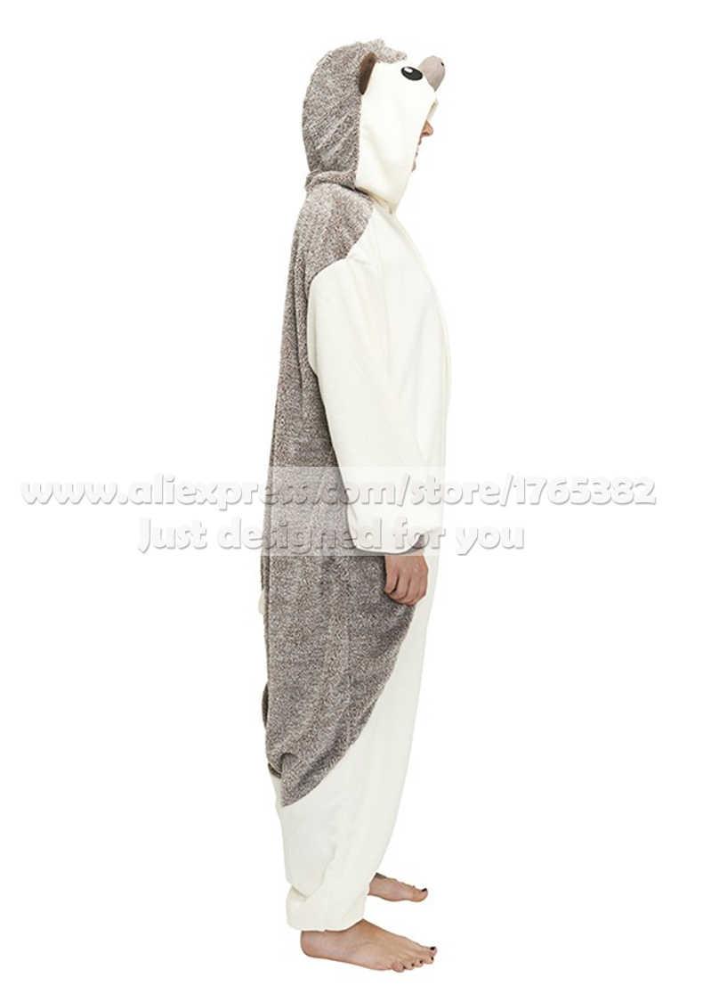 ... Взрослых унисекс Пижама «Ежик» Комбинезоны Пижама животных костюмы  косплэй мультфильм пижамы одна деталь для ... 0087e27ab6956