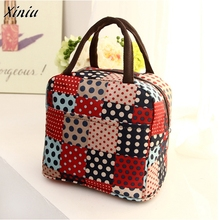 Lunch bag Portable Thermal Insulated Tote Picnic Lunch Cool Bag for Men Women Unisex Zipper Cooler Box Handbag Pouch Bags