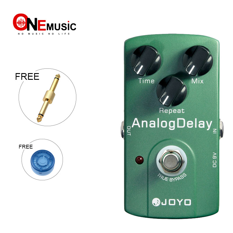 JOYO JF-33 Analog Delay Electric Guitar Effect Pedal True Bypass with Gold Pedal Connector and MOOER knobJOYO JF-33 Analog Delay Electric Guitar Effect Pedal True Bypass with Gold Pedal Connector and MOOER knob