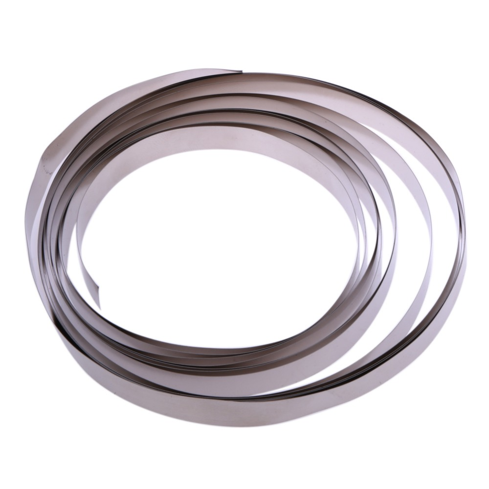 3M Sliver Nickel Strip 8*0.18mm Pure Ni Plate Nickel Strip Tape For Li 18650 Battery Spot Welding DIY Pack Assembly Dropship 2 meter tape 8mm x 0 15mm spcc pure ni plate nickel strip tape strap for battery welding diy pack assembly popular