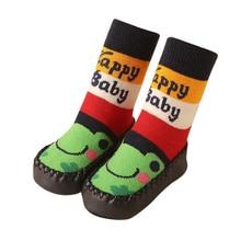 ARLONEET обувь для малышей; детские мокасины с рисунком; нескользящие домашние тапочки; носки; нескользящая детская обувь; коллекция года; носки для новорожденных