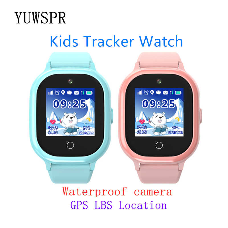 kids GPS tracker watch IP67 waterproof swimming camera GPS LBS Location touch Screen SOS Call children Smart Watch TD06S