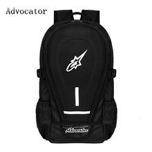 Advocator große kapazität oxford motorrad männer rucksack 14 zoll laptop stilvolle schule rucksack für jugendliche jungen mochila escolar