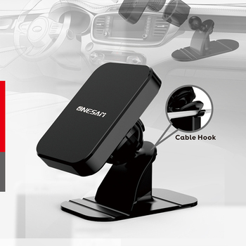 Magnetic Car Phone Holder For iPhone XS X Samsung Magnet Strong Mount Car Holder For Phone