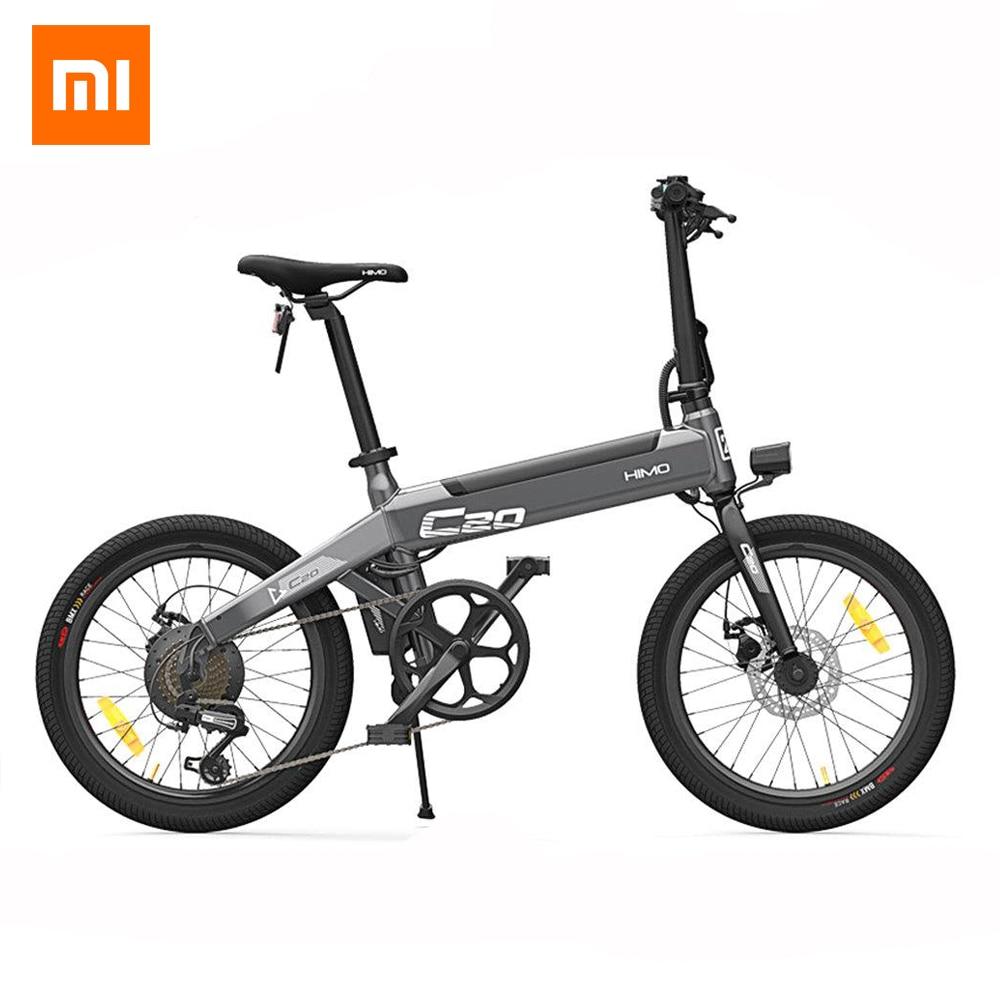 [Free Duty] Xiaomi HIMO C20 vélo cyclomoteur électrique pliable 250 W moteur 25 km/h pompe de gonflage cachée Shimano variateur de vitesse