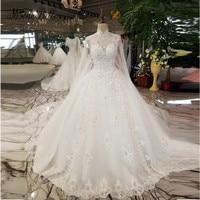 Modabelle Dubai Beaded Wedding Ball Gown Backless Robe De Mariee Bridal Appliques Long Cape Elegant Bling