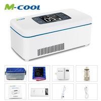 Mini Frigo insulina frigorifero Auto 2-8 gradi Celsius Refrigerare Box Drug Reefer