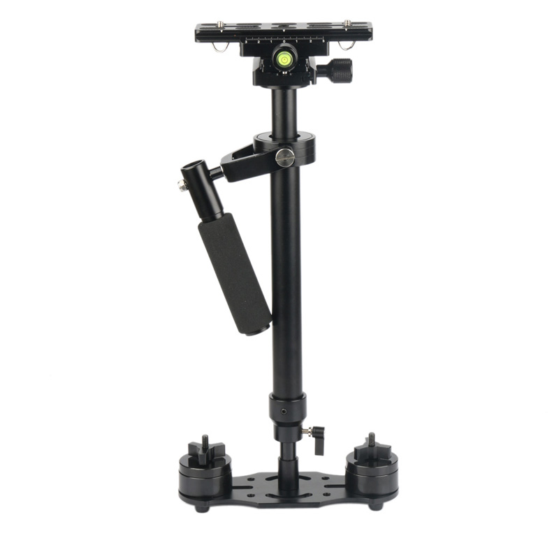 ФОТО NI5L High Quality Professional S60 Gradienter Handheld Stabilizer Steadycam Steadicam for Camcorder DSLR