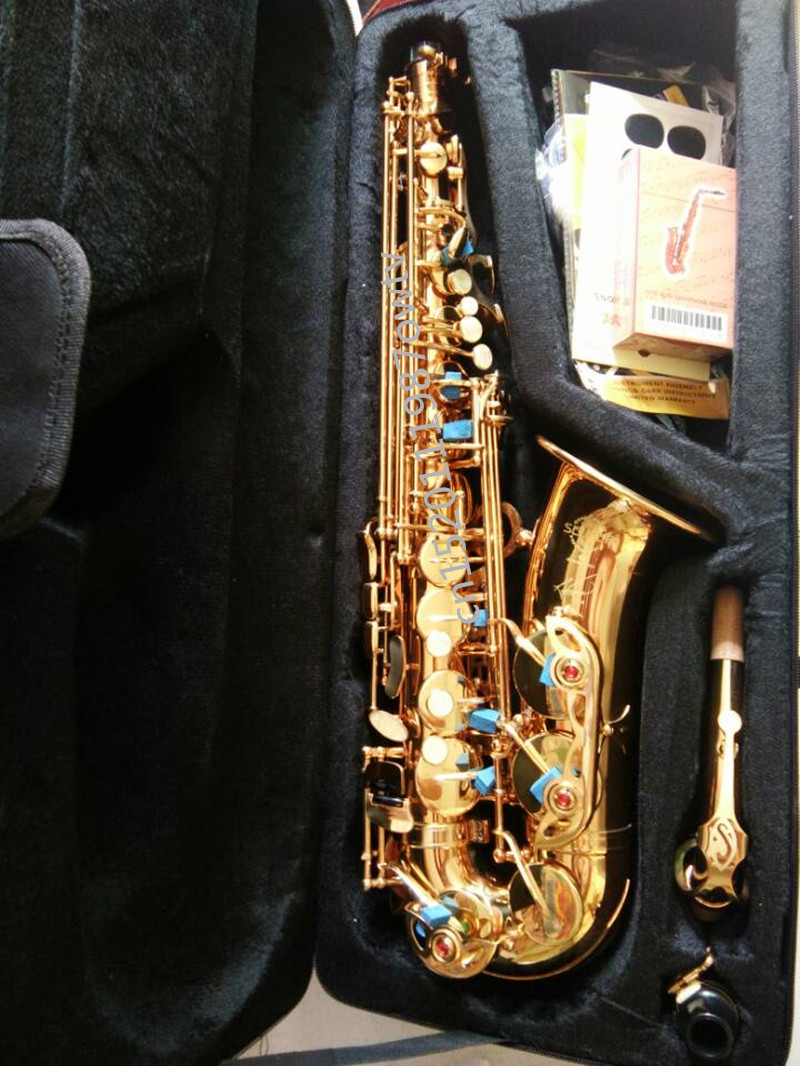 DHL, FedEx free Professional France Henri Selmer Saxophone alto sax E alto Saxophone and flat saxfone 54 and musical instruments selmer of france b flat tenor sax instruments shipping professional performance suitable for beginners
