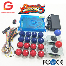 2 Player Arcade Mame Joystick And Original Pandora Box 5 Home Edition 960 In 1 Motherboard Game DIY Kit  For Machine