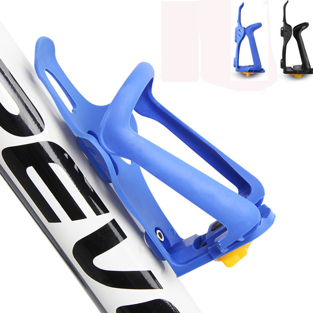 PLASTIC WATER DRINK BOTTLE RACK HOLDER BRACKET CAGE BICYCLE BIKE CYCLING NEW