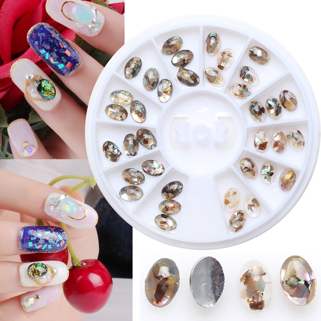 Gem stone nail art rhinestones for 3d nail art decoration 6cm gem stone nail art rhinestones for 3d nail art decoration 6cm nails wheels shell piece design prinsesfo Image collections