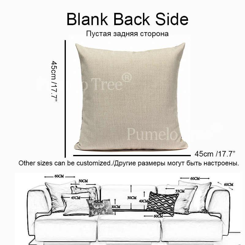 Kolorowa Nordic geometryczna poszewka na poduszkę okładka Camping pościel obicia na poduszki niestandardowa jakość dom wiejski Home Decor rzuć poszewka na poduszkę