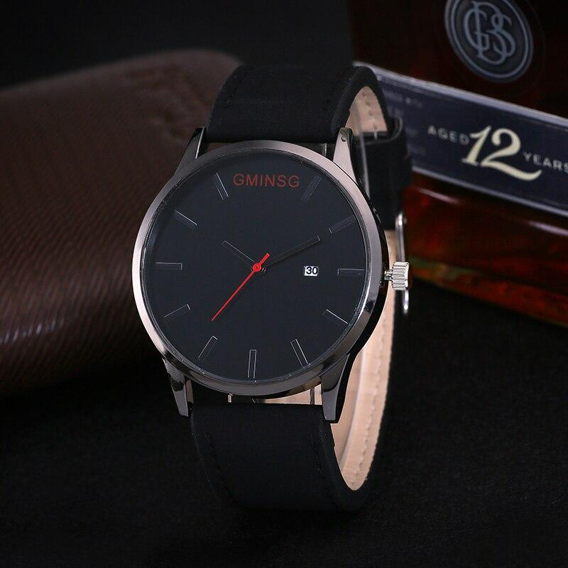 Men s font b Watches b font Luxury Brand GMINSG Full Stainless Steel Men Quartz Dress